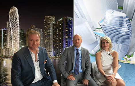 Aston Martin and Coto family launch car maker's first branded condo tower in downtown Miami